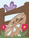 Purpurfärgad fjäril Royaltyfri Fotografi
