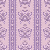 Purpurfärgad fjärilsWallpaper royaltyfri illustrationer