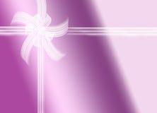 Purpurfärgad gåva Royaltyfria Bilder