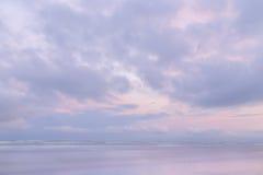 Purpurfärgad himmel Arkivbilder