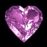 Purpurfärgad hjärta vektor illustrationer