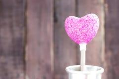 Purpurfärgad hjärta Royaltyfri Foto