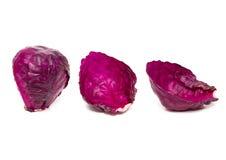 Purpurfärgad kål Royaltyfria Foton