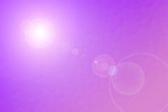 Purpurfärgad lins Royaltyfria Bilder