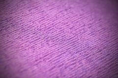 Purpurfärgad makro för textur för inpackningspapper royaltyfria foton