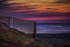 Purpurfärgad morgon Arkivfoto