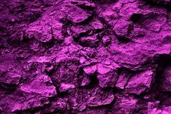 Purpurfärgad organisk stentextur och bakgrundsmodell Arkivbilder