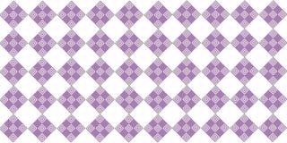 Purpurfärgad sömlös vägg Royaltyfri Foto