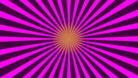 Purpurfärgad sunburstabstrakt begreppbackgrund Arkivbilder