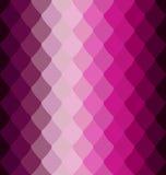 Purpurfärgad volymvåg för modell royaltyfri illustrationer