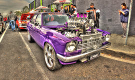 Purpurfärgade Holden Tvillingarna Arkivfoton