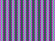 Purpurfärgade upprepade former och former som mousserar linjer, abstrakt bakgrund stock illustrationer