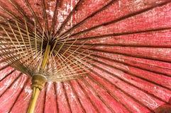 Purpurfärgat violett traditionellt japan- eller asiatpapper för tappning - cott arkivfoton