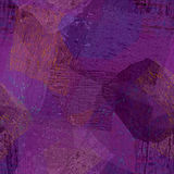 Purpurfärgat upprepa för silkespapperpapper Royaltyfri Fotografi