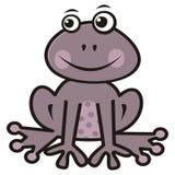 Purpurowa żaba Obrazy Royalty Free