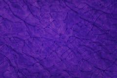 Purpurowa abstrakcjonistyczna farba w woda wzorze Obrazy Royalty Free