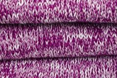 Purpurowa bawełna jako tło Fotografia Stock