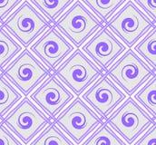 Purpurowa bezszwowa płytka z rhombus wzorem Obrazy Royalty Free