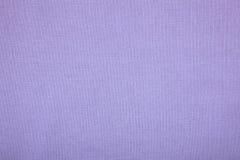 Purpurowa bieliźniana kanwa jako wielka tekstura Obrazy Royalty Free