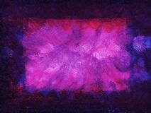 Purpurowa grunge rama Obrazy Stock