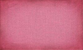 Purpurowa horyzontalna kanwa z delikatną siatką Grunge tekstura lub tło obrazy royalty free