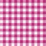 Purpurowa i biała tablecloth tekstury tapeta Obrazy Stock