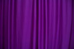 Purpurowa zasłona Fotografia Stock