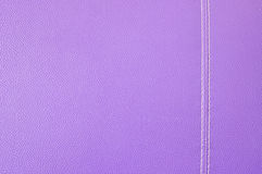 Purpurowa rzemienna tekstura Zdjęcia Stock