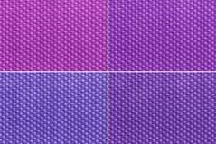 Purpurowa tkanina Fotografia Royalty Free