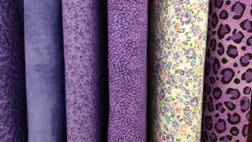 Purpurowa tkanina Zdjęcie Royalty Free