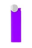 Purpurowa zapalniczka Zdjęcie Royalty Free