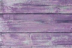 Purpurowe drewniane deski Obrazy Royalty Free