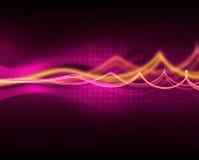 purpurowe fala Obraz Royalty Free