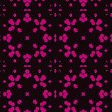 Purpurowe marokańczyk płytki - bezszwowy wzór royalty ilustracja