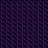 Purpurowe neonowe gwiazdy, fiołkowy okresowy bezszwowy wzór Zdjęcia Stock