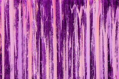 Purpurowe smugi Zdjęcie Stock