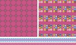 purpurowe tekstury Fotografia Stock