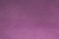 Purpurowego fiołka tekstury dziurkowaty rzemienny tło Zdjęcia Royalty Free
