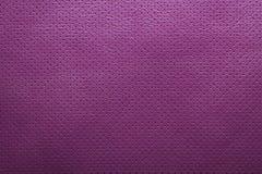 Purpurowego fiołka tekstury dziurkowaty rzemienny tło Obraz Royalty Free