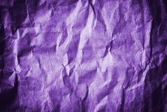 Purpurowego Grunge rocznika stary papier Obraz Royalty Free