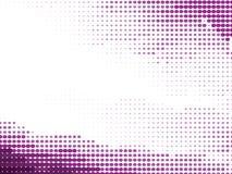 Purpurowego Half-Tone Organicznie Tło Obrazy Royalty Free