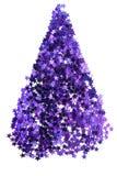 Purpurowi confetti odizolowywający Obrazy Stock