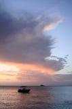 Purpurowi nieba Obraz Stock