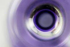 Purpurowi pierścionki Fotografia Stock