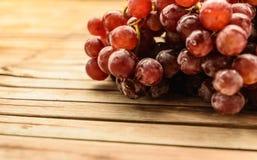Purpurowi winogrona świezi Zdjęcia Stock