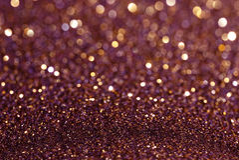 Purpurowy żółty błyskotliwości bokeh abstrakta tło Fotografia Stock