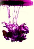 Purpurowy atrament Fotografia Stock