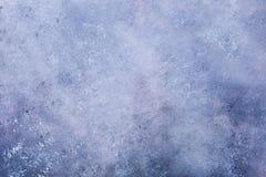 Purpurowy błękita betonu kamienia tło Zdjęcia Royalty Free