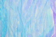 Purpurowy błękitny akwareli tło Obraz Royalty Free