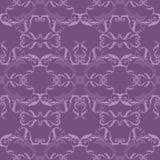 Purpurowy bezszwowy wzór Obrazy Stock